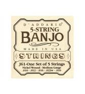 Conjuntos de cuerdas de banjo