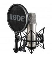 Micrófono de diafragma grande
